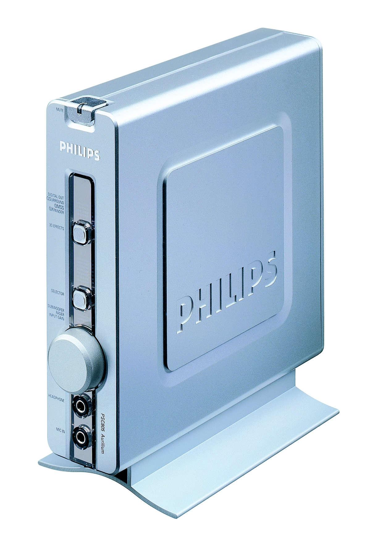 Digital Audio in hoher Qualität