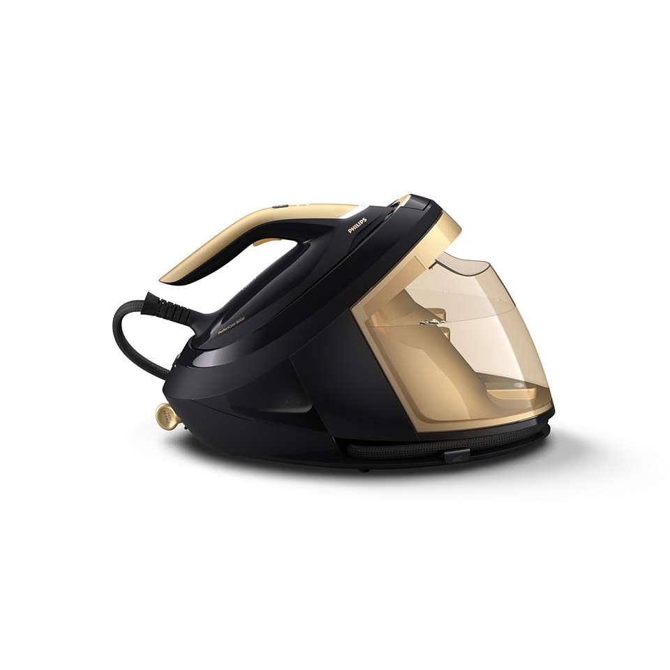 La plancha que adapta el vapor a la velocidad de planchado