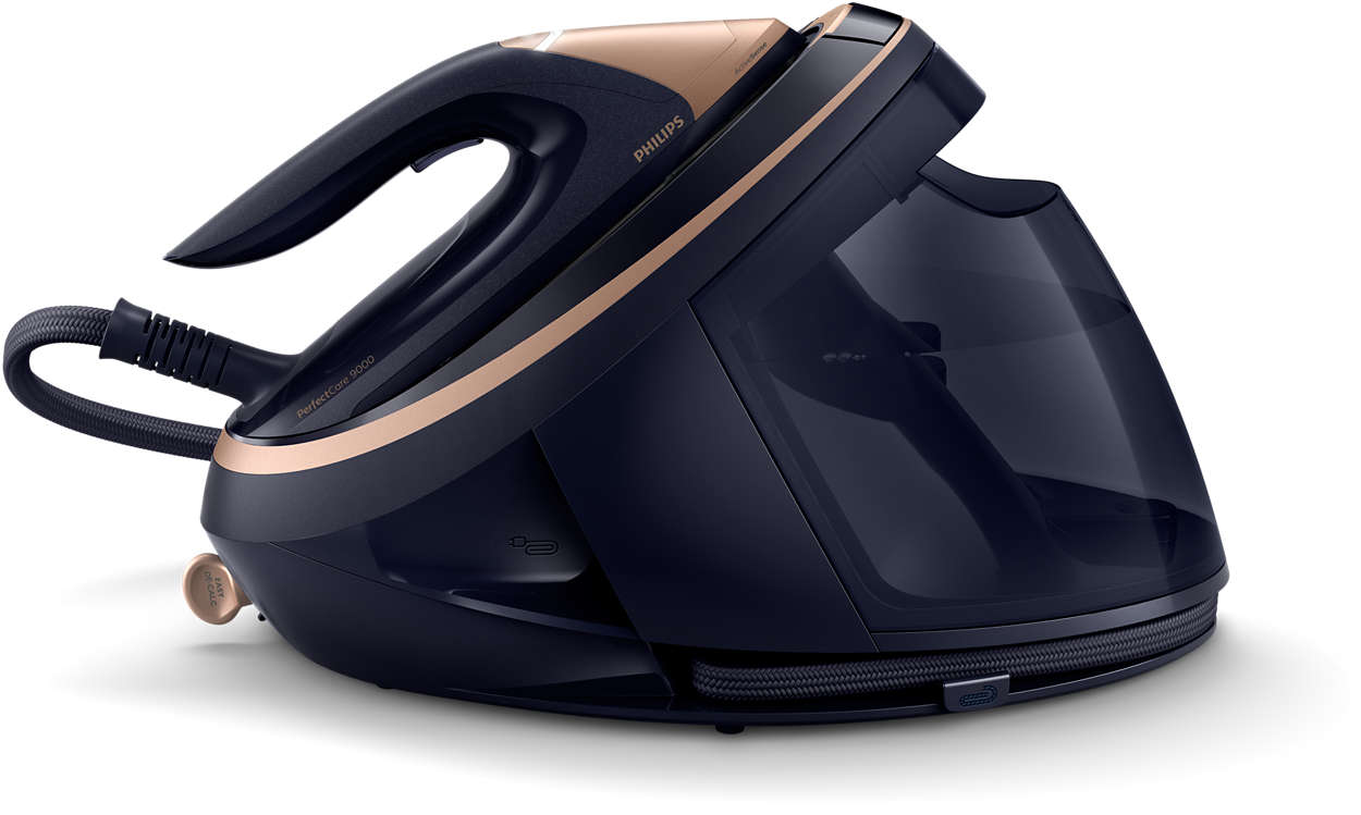 The only iron that knows what you are ironing