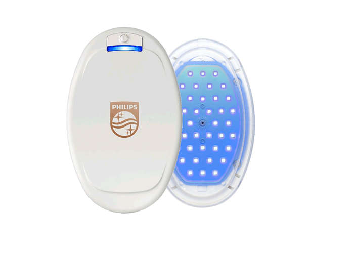 Blue LED Light Therapy.
