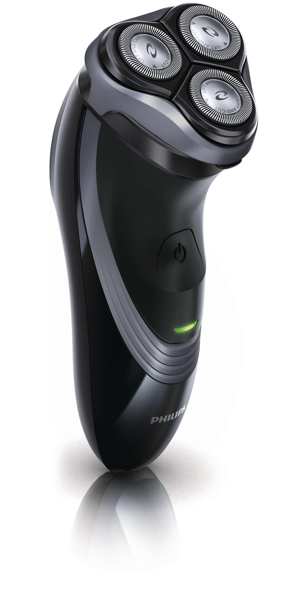 2-in-1-Leistung: Schnelles Rasieren oder Trimmen