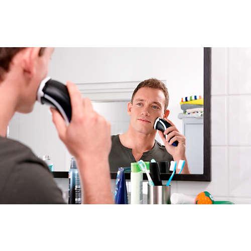 Shaver series 3000 Elektrisch apparaat voor droog scheren
