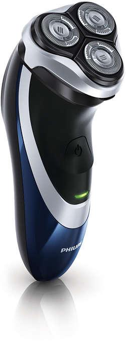 Asigură un bărbierit mai precis şi mai eficient