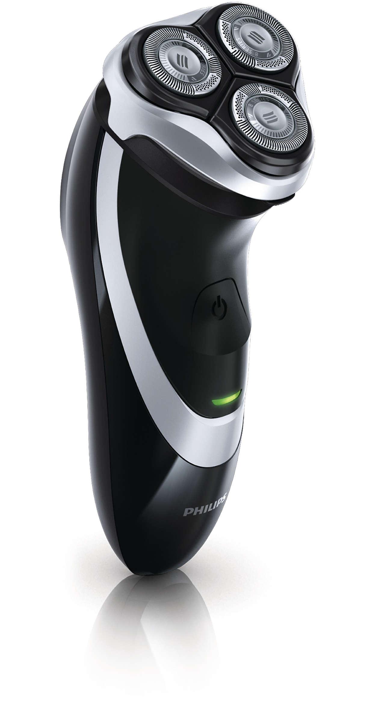 Un afeitado apurado
