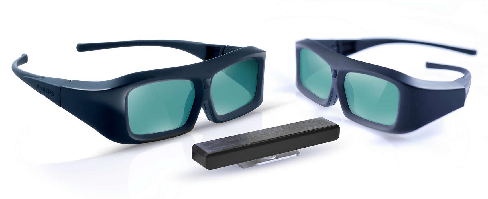 """Mėgaukitės 3D vaizdu savo """"Philips 3D Ready"""" televizoriuje"""