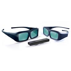 PTA02/00  3D TV jaunināšanas komplekts