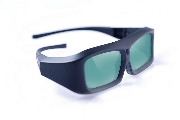 Disfrutá las 3 dimensiones con tu TV Philips preparado para 3D