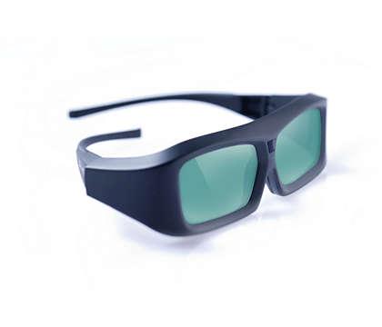 Nauti 3D-kuvasta Philips 3D Ready -televisiossa