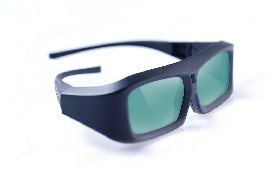Élvezze a 3D-t Philips 3D Ready TV-n