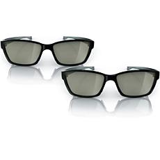 PTA417/00  แว่นตา 3D แบบ Passive