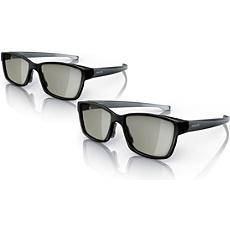 PTA436/00  Divu spēlētāju pilnekrāna spēļu brilles