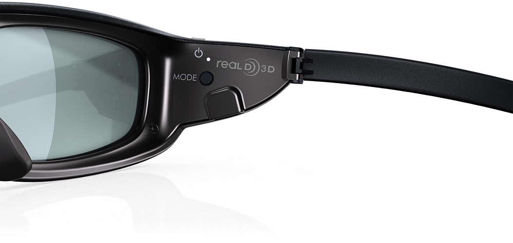 ef4fef00d Aktívne 3D okuliare PTA517/00 | Philips