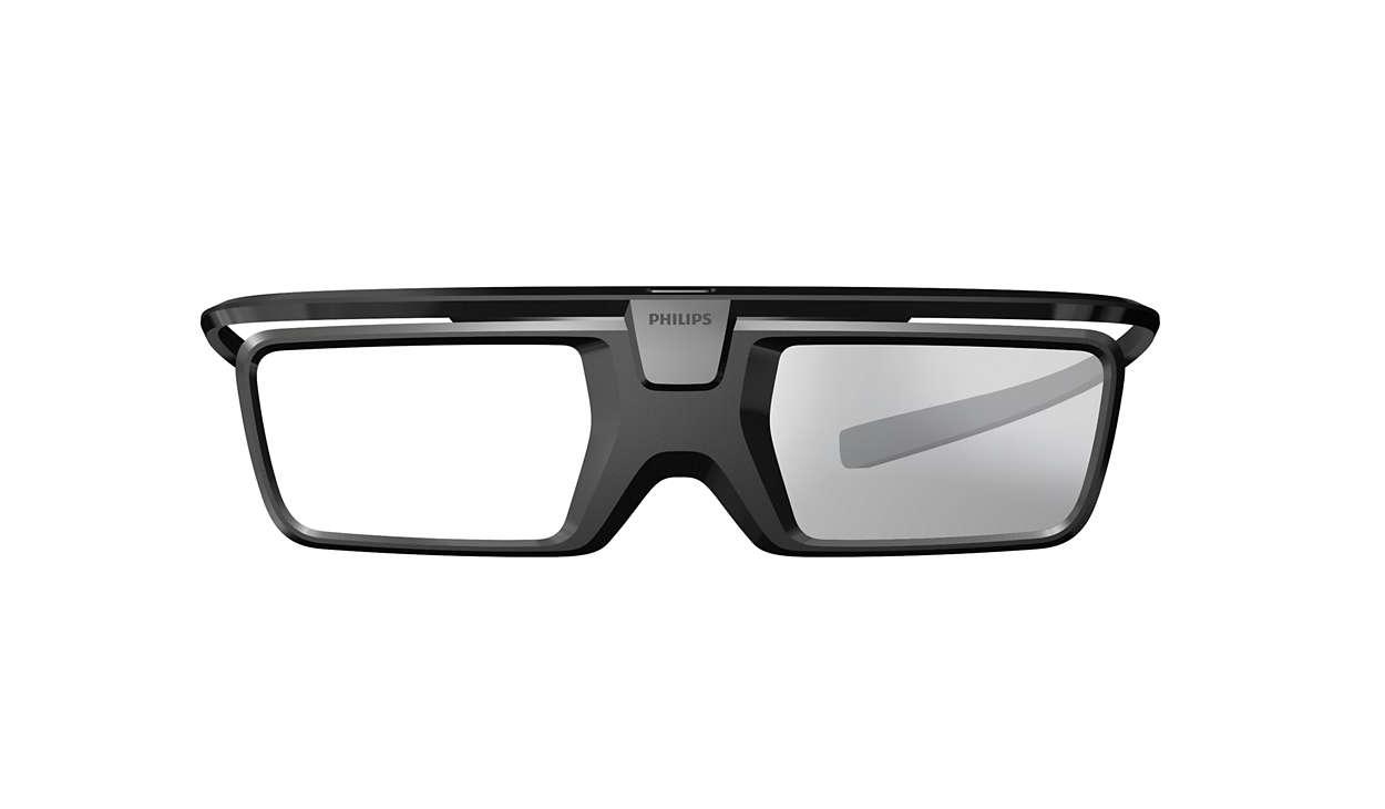 lunettes 3d active pta519 00 philips. Black Bedroom Furniture Sets. Home Design Ideas