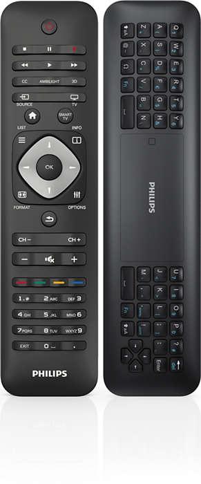 Controle remoto com pointer e teclado