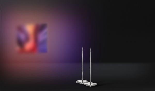 Philips 2015: Lautsprecherständer PTA860/00 mit 20 W Boxen