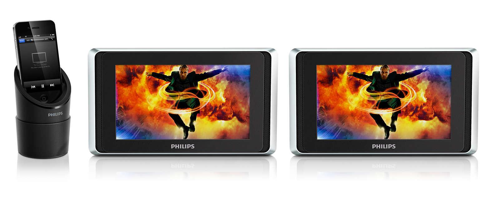 Profitez en voiture des vidéos de votre iPod/iPhone/iPad