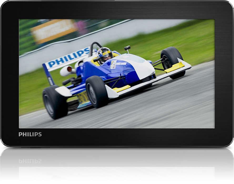 Bucuraţi-vă de clipuri video în mod convenabil la drum