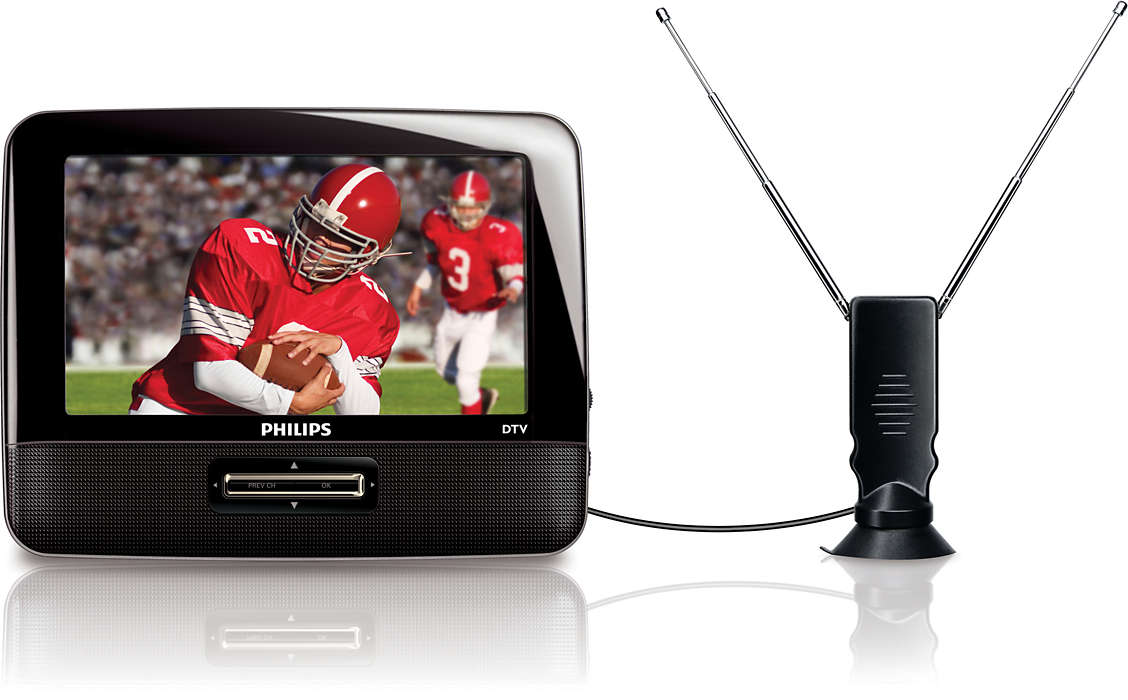 Enjoy portable digital TV