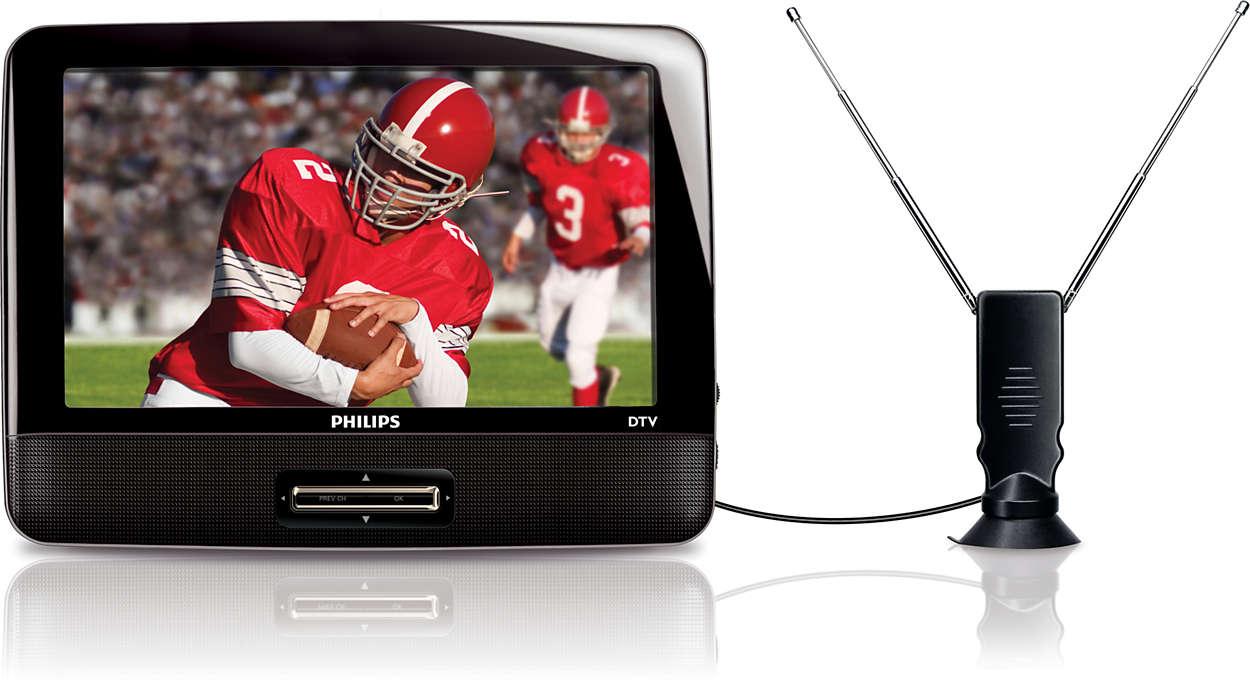 Téléviseur numérique portatif
