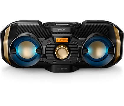 Наслаждавайте се на мощна музика безжично, където и да сте
