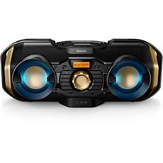 PX840T/12 -    CD-soundmachine