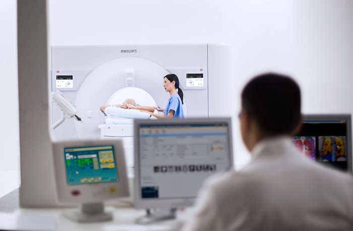 Philips IQon Elite Spectral CT scanner