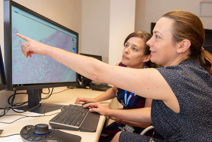 Philips IntelliSite Pathology Solution's Image Management System