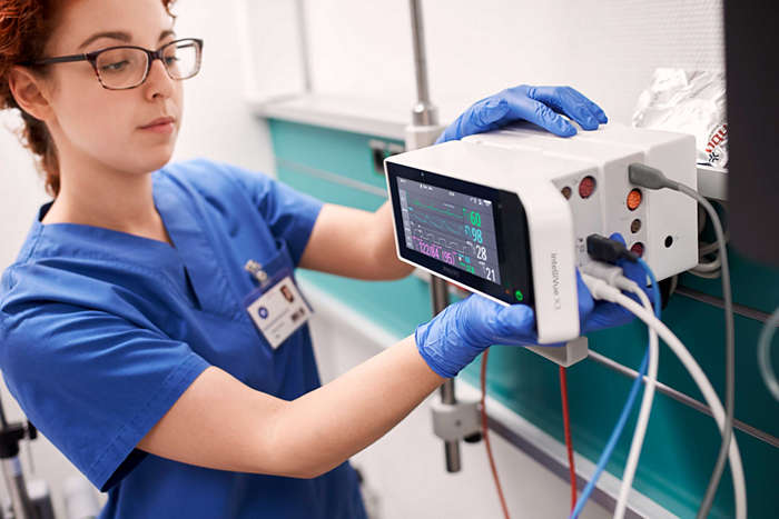 Philips IntelliVue X3 portable patient monitor