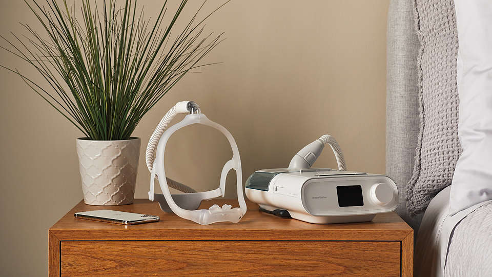 Philips data-designed DreamWear Silicone Pillows CPAP mask