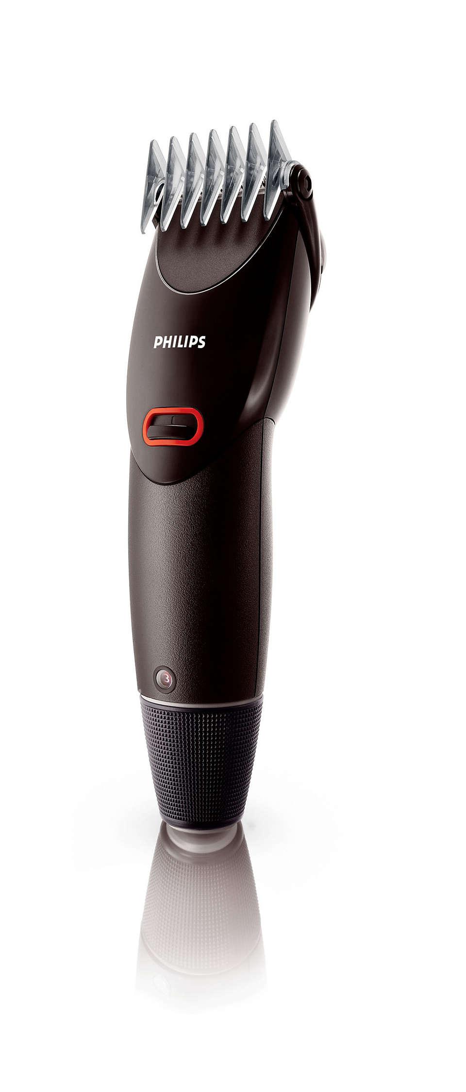 操作容易的剪髮器