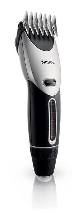 Bardzo łatwa w obsłudze maszynka do strzyżenia włosów