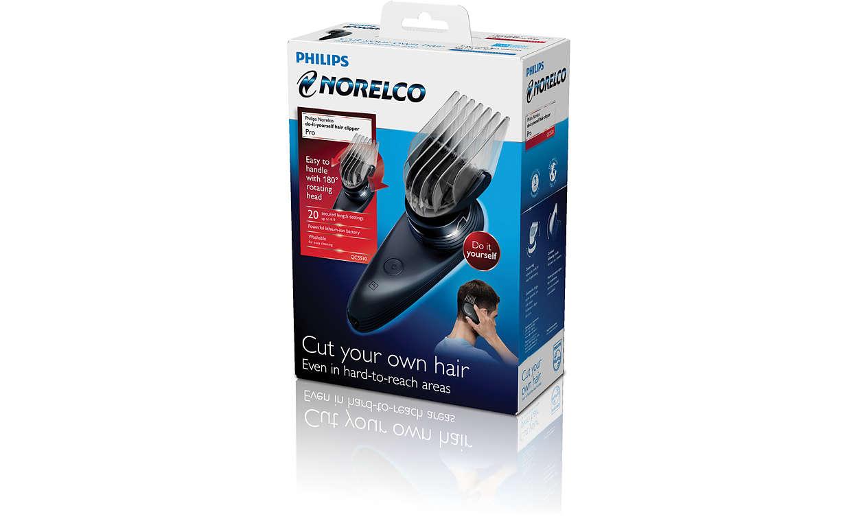 Do it yourself hair clipper qc553040 norelco solutioingenieria Gallery