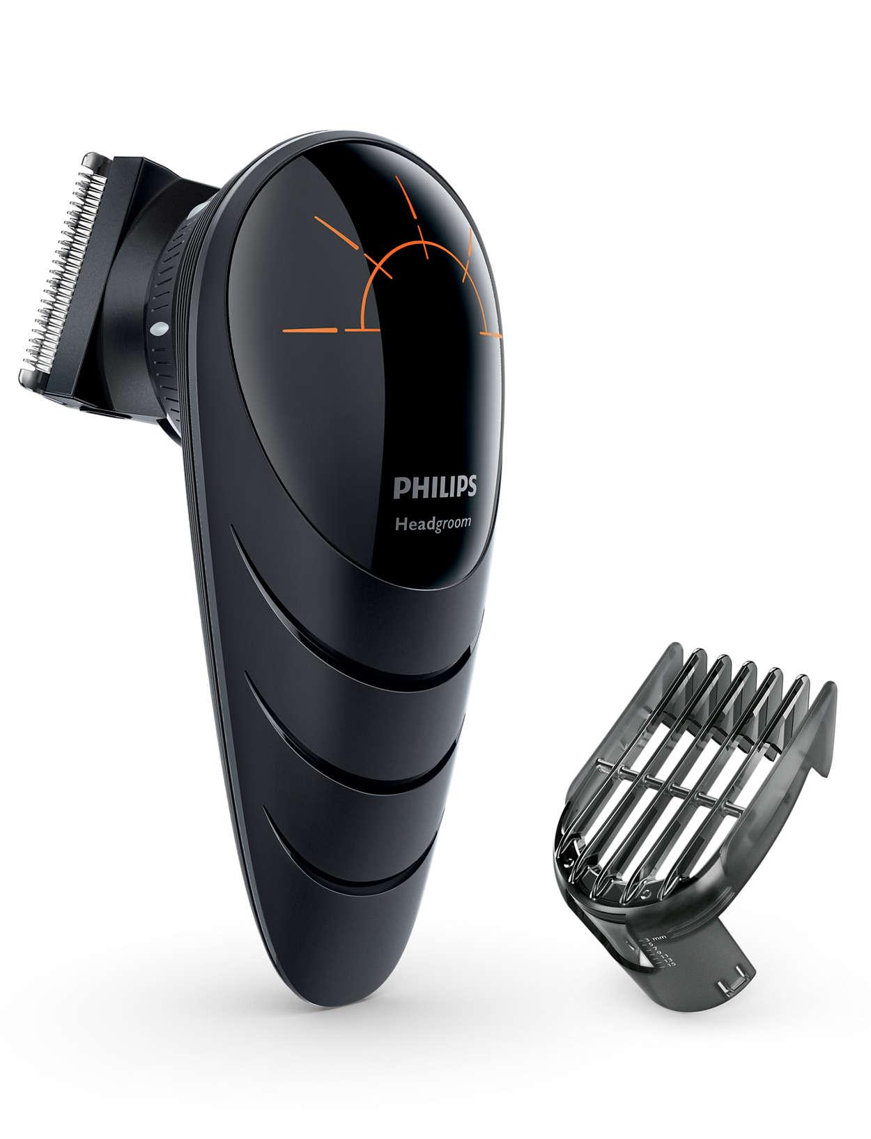 Cortate vos mismo el pelo, incluso en zonas difíciles de llegar