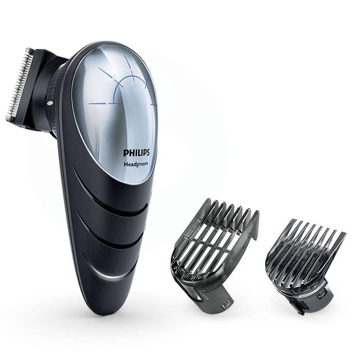 Haare selbst schneiden– sogar an schwer erreichbaren Stellen