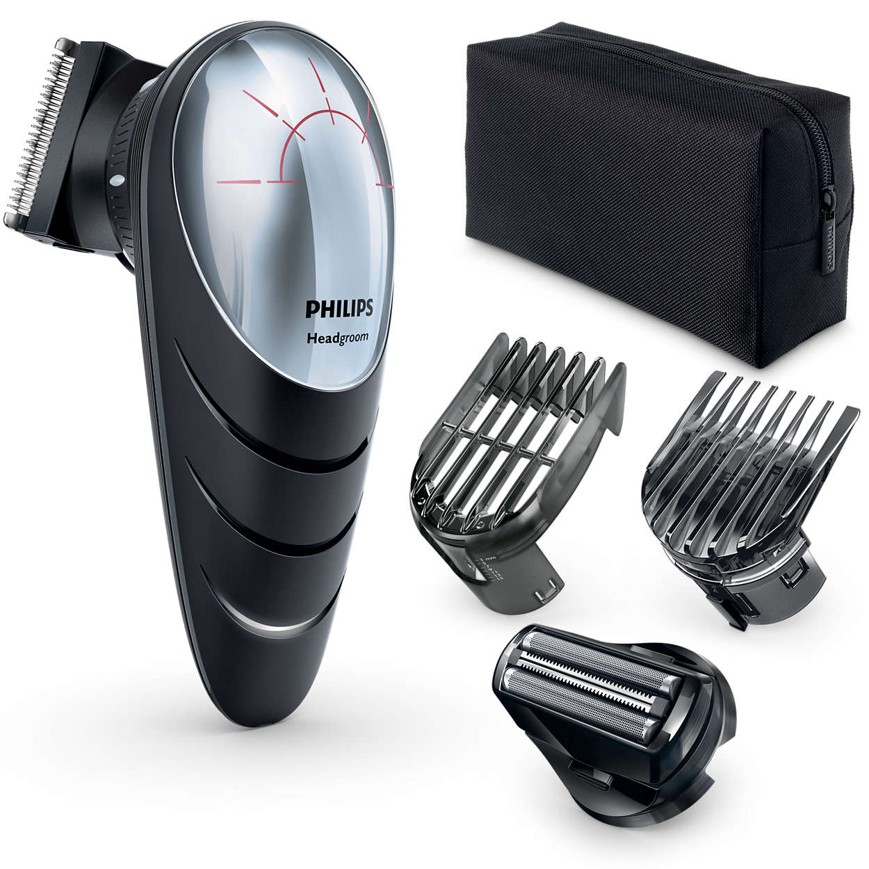 Shave your own head - even in hard-to-reach areas
