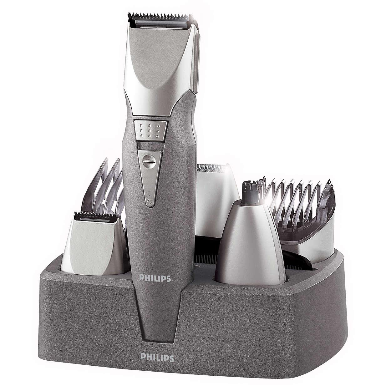 Conjunto de barbear 7 em 1