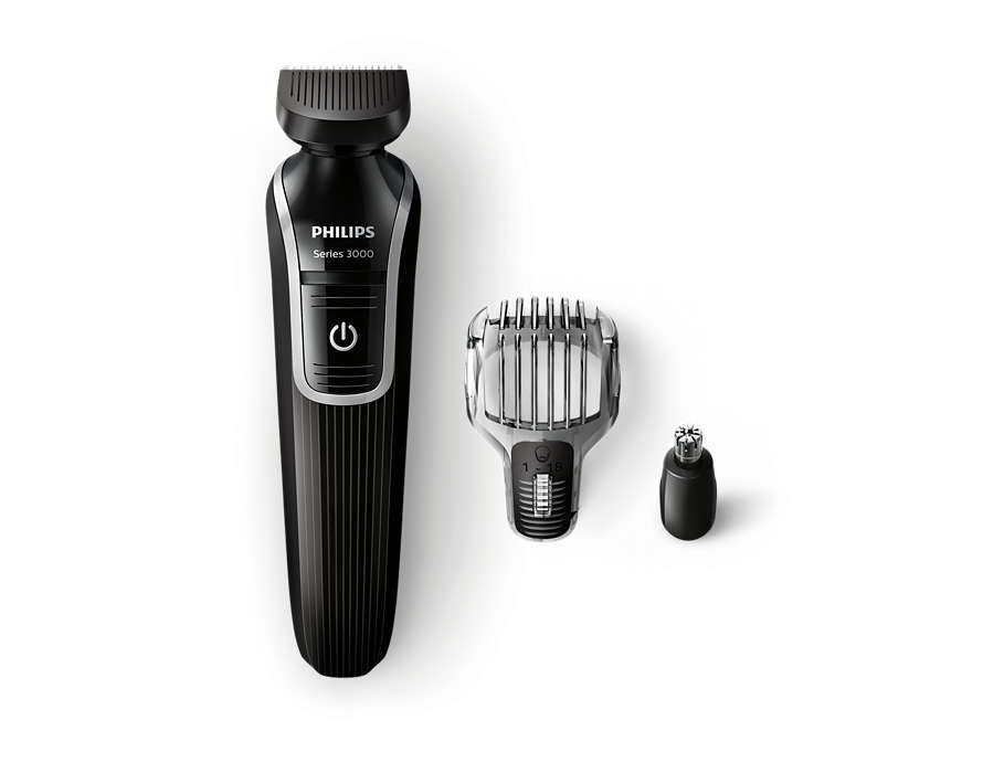 All-in-one beard & detail trimmer