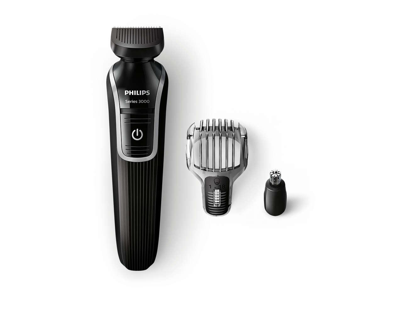 Recortador de barba y precisión todo en uno