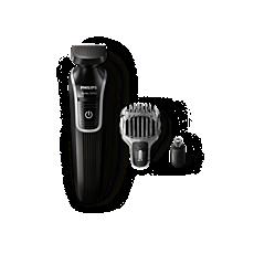 QG3320/15 Multigroom series 3000 Recortadora para detalles y barba 3en1