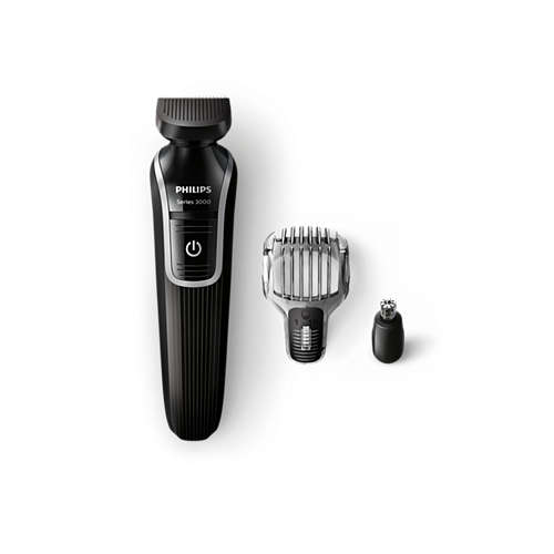 Multigroom series 3000 Kit multifunzione impermeabile VISO