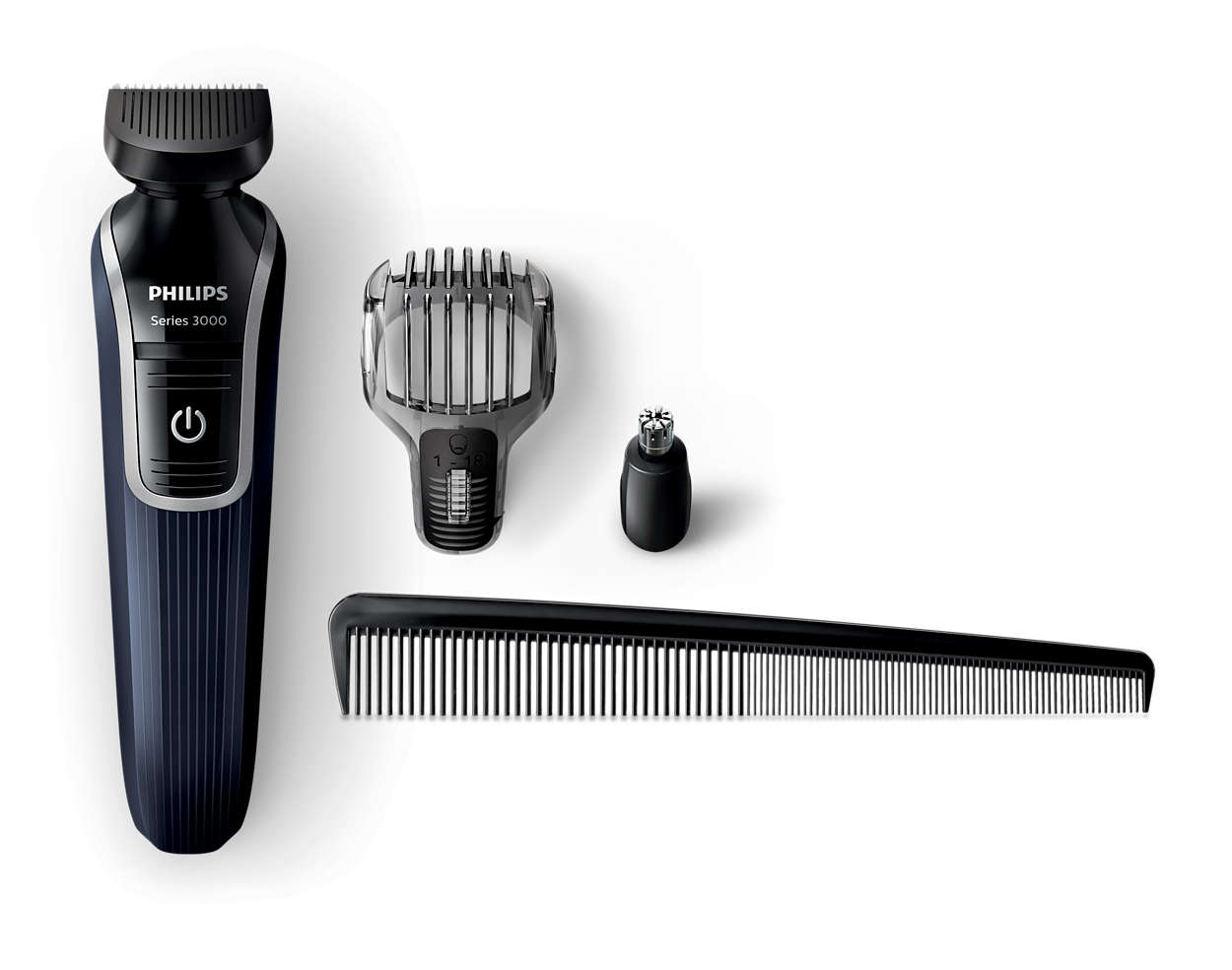 multigroom series 3000 3 in 1 beard and detail trimmer qg3322 13 philips. Black Bedroom Furniture Sets. Home Design Ideas