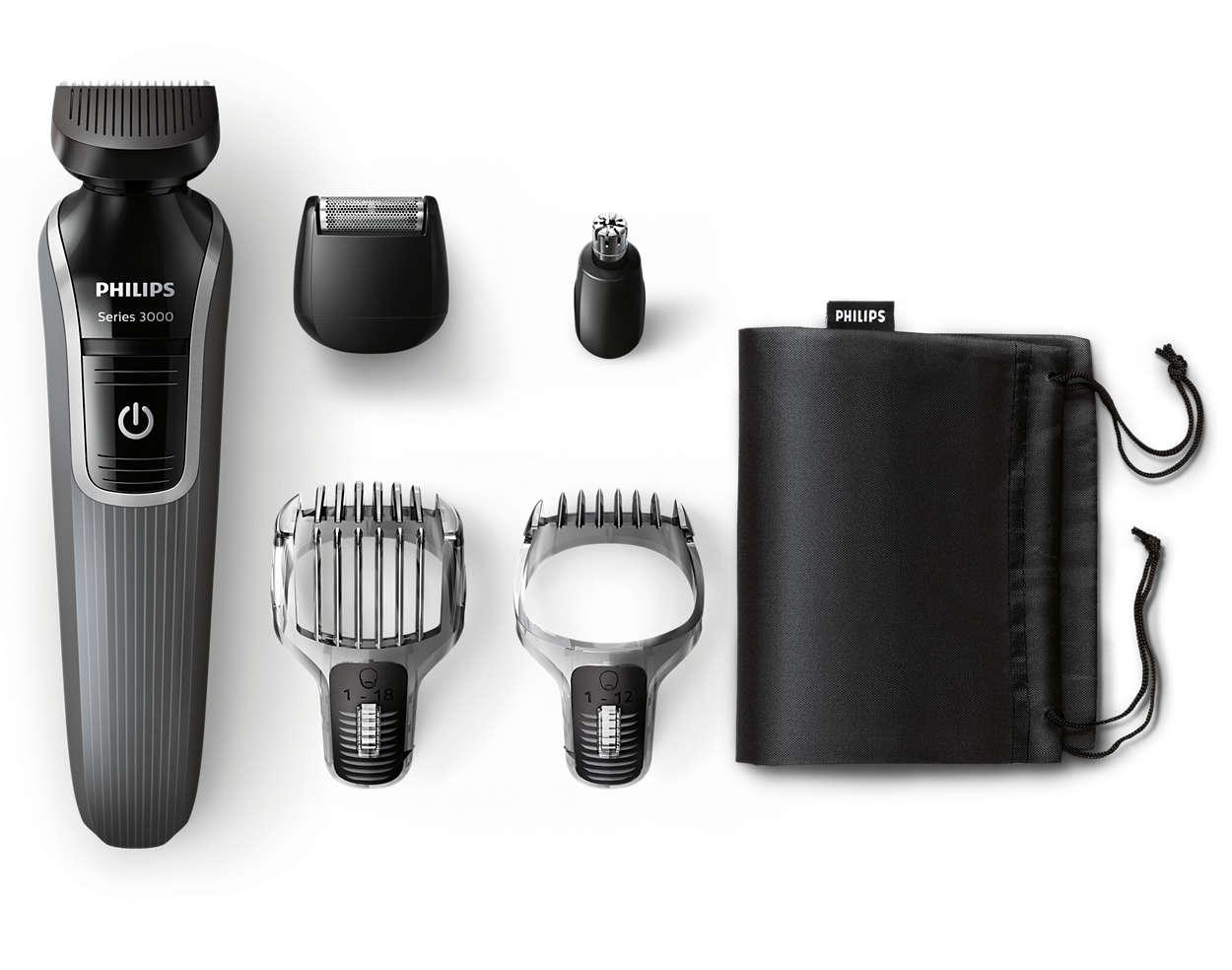 Универсальный триммер для бороды и контуров