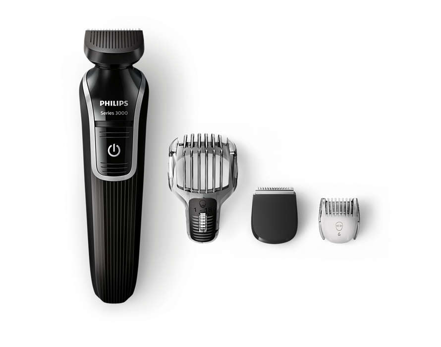 Tondeuse à barbe et de précision tout-en-un