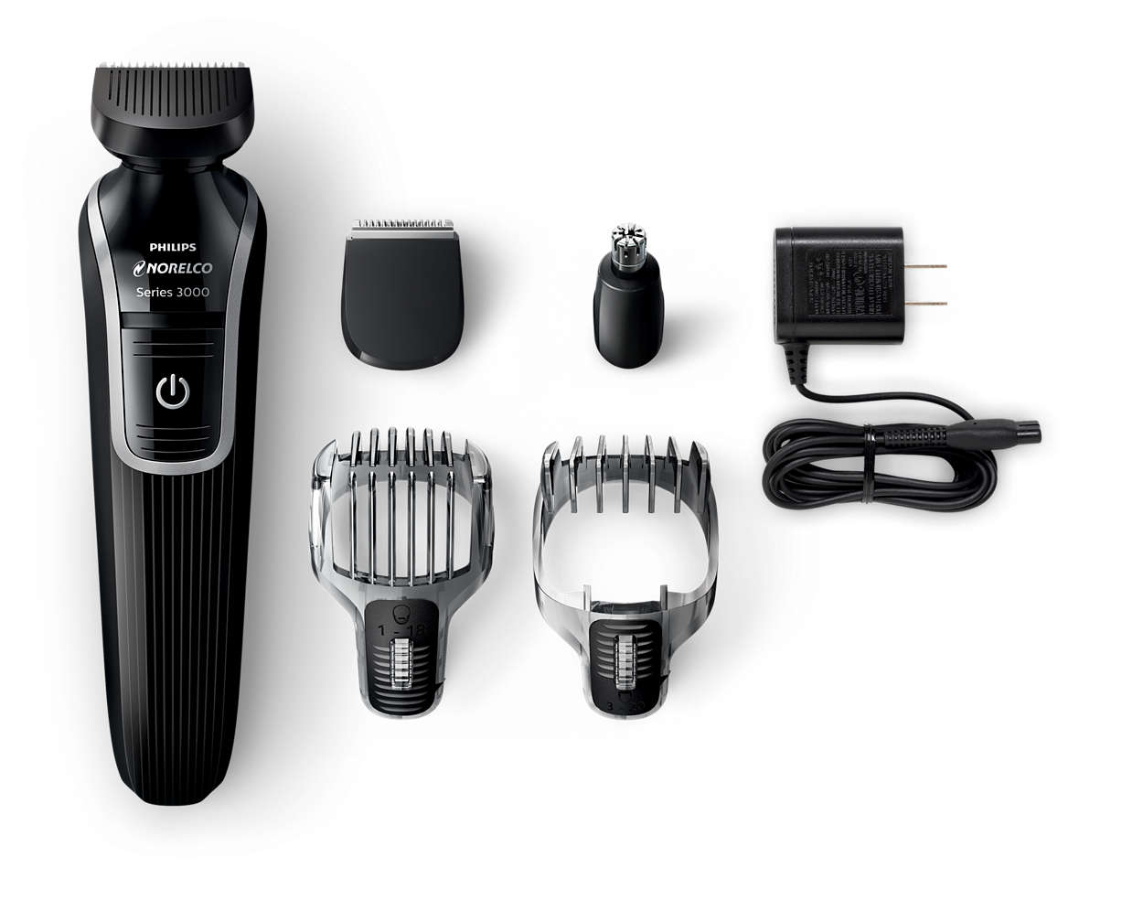 multigroom 3100 all in one 5 in 1 grooming kit qg3330 49 norelco. Black Bedroom Furniture Sets. Home Design Ideas