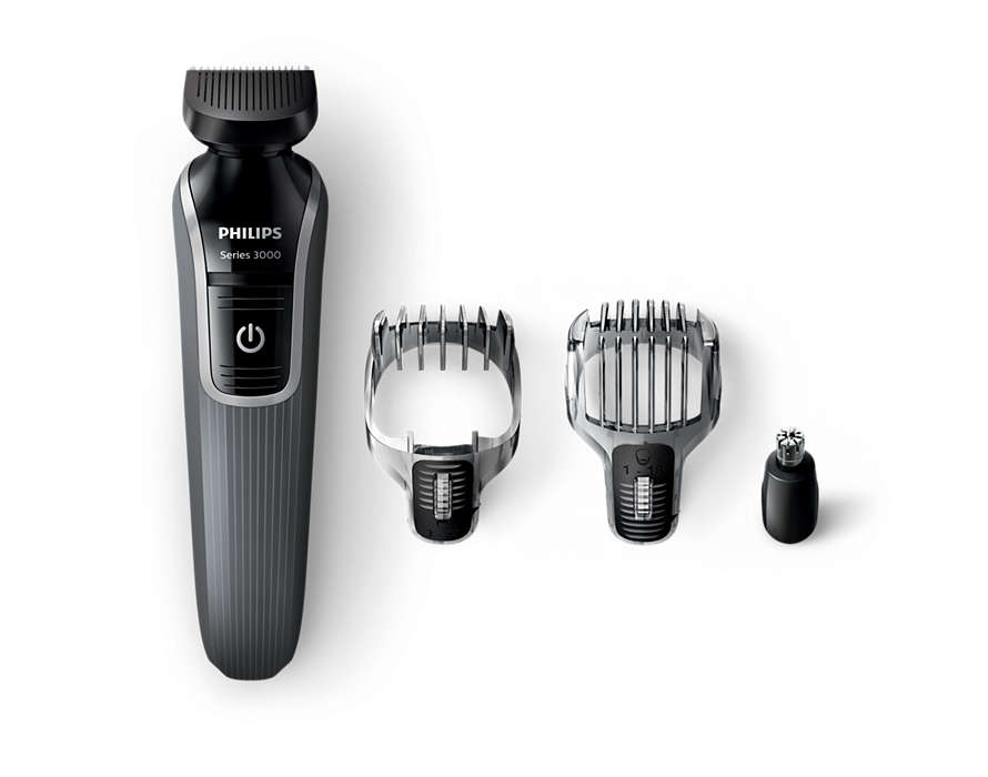 All-in-one beard and hair trimmer
