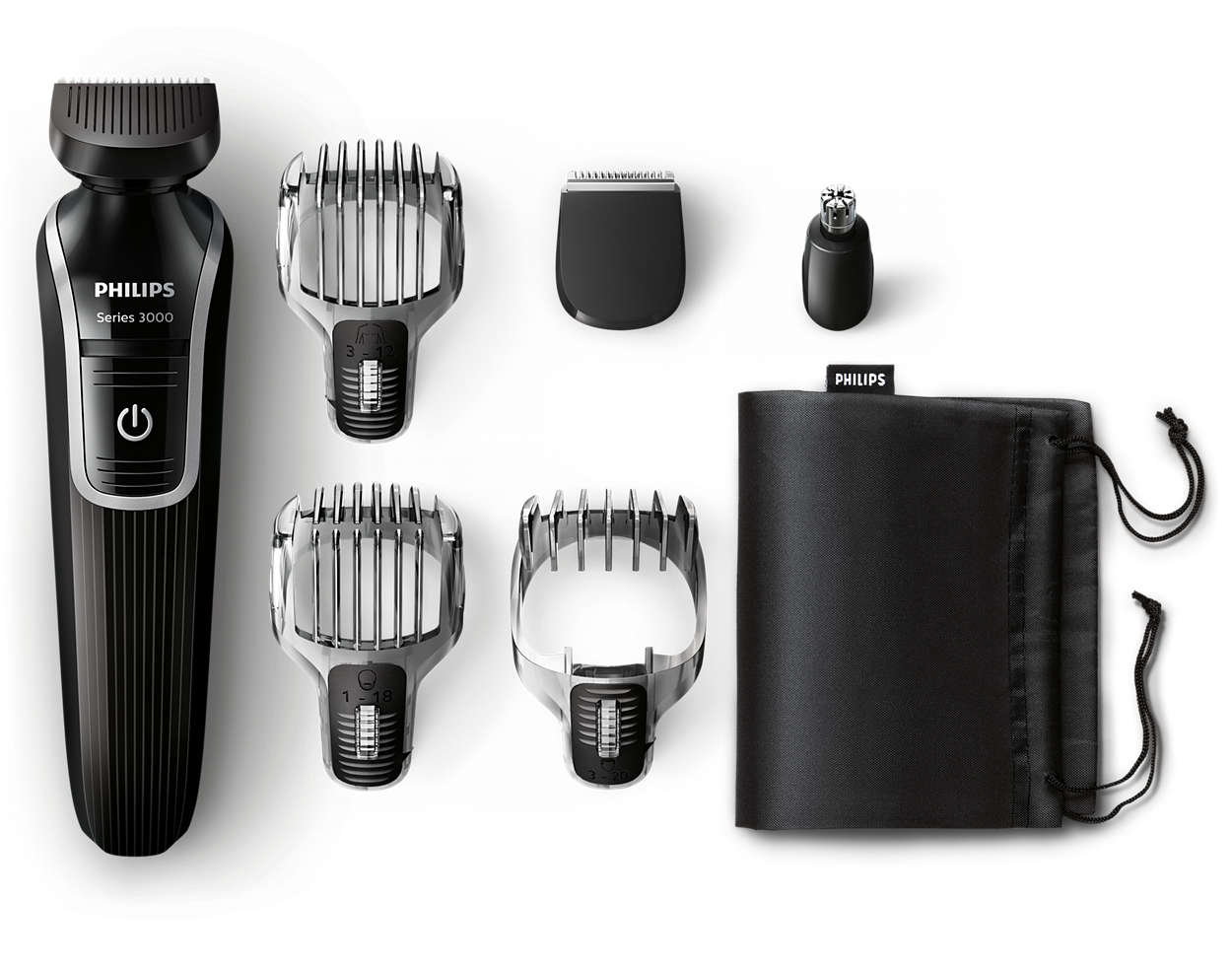 Uniwersalny trymer do brody, włosów i ciała