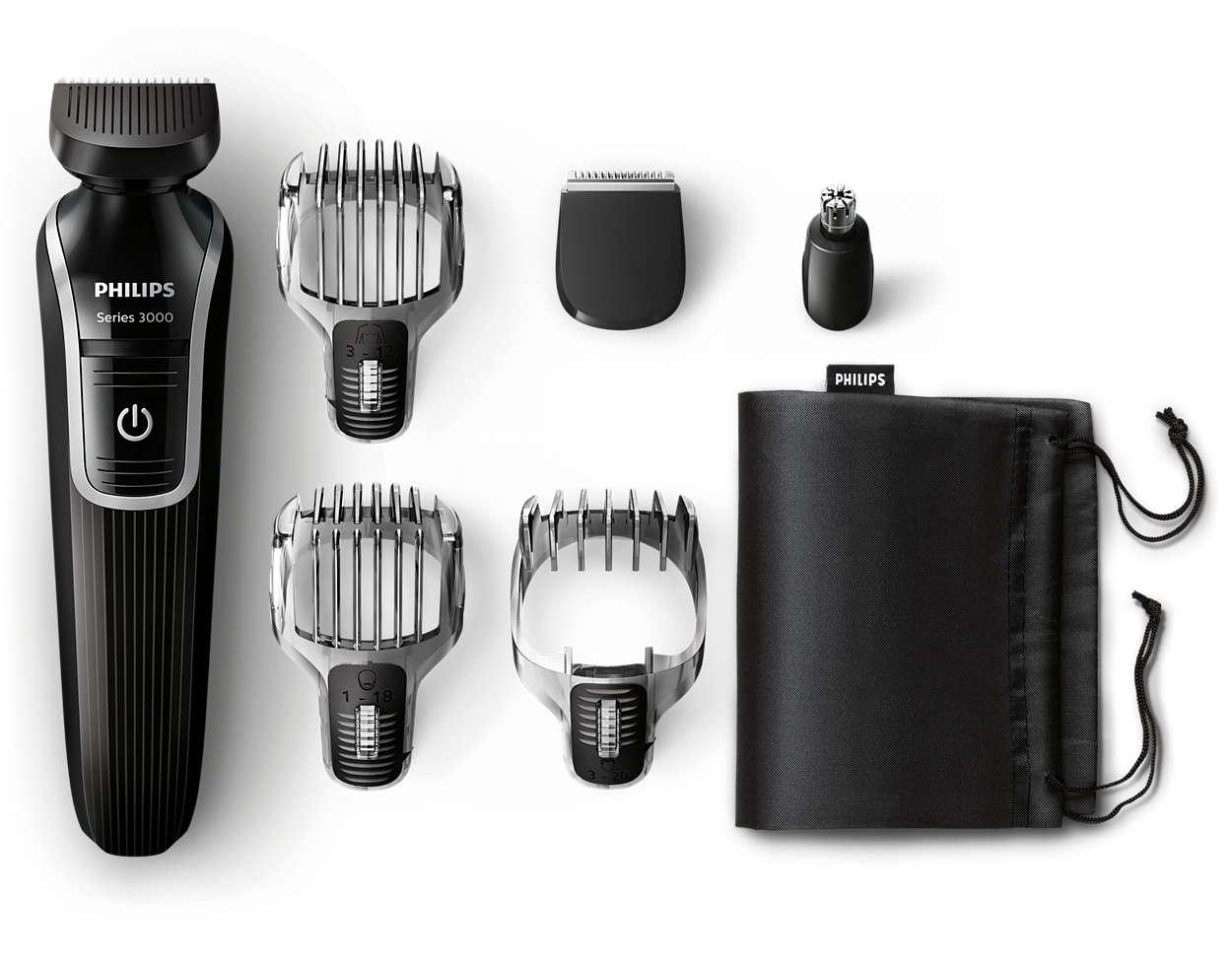 Универсальный триммер для бороды, волос и тела