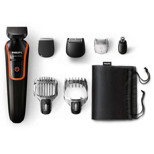 Multigroom series 3000 7-in-1 Beard & Hair trimmer