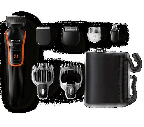 Multigroom series 3000 Máquina para cortar cabello y barba 7 en 1 ... ed8f8289adee