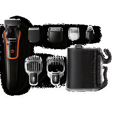 QG3340/16 Multigroom series 3000 Corta cabello y barba 7 en 1